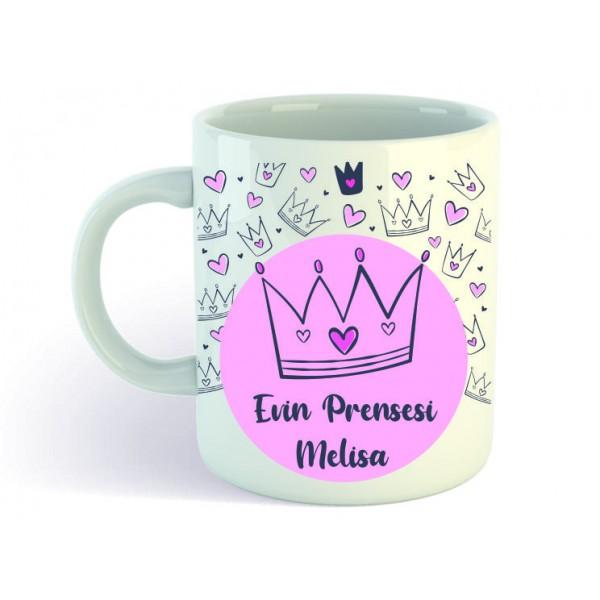 Evin Prensesi Hediye Kupa Bardak