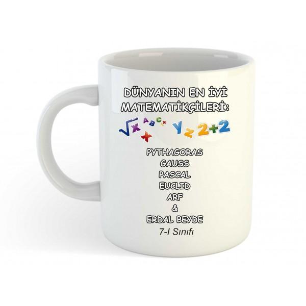 Matematik Öğretmeni Kupa Bardak