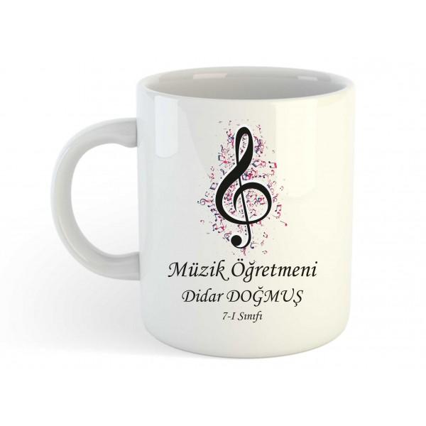 Müzik Öğretmeni Kupa Bardak