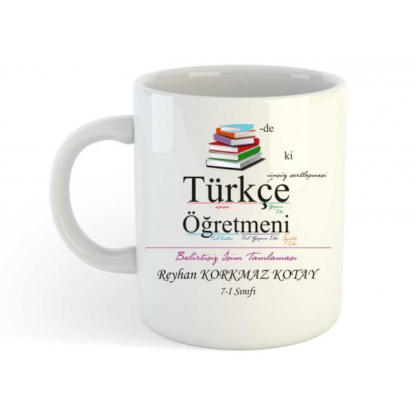 Türkçe Öğretmeni Kupa Bardak