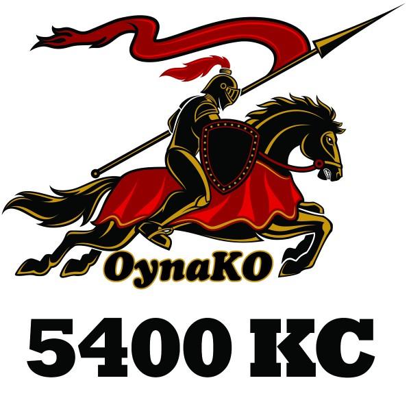 OynaKO 3600 KC + 900 Bonus + 900 Super Bonus