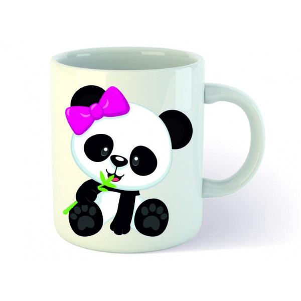 Panda Temalı Sevgili Kupa Bardak