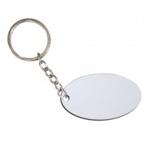 HDF Oval Anahtarlık